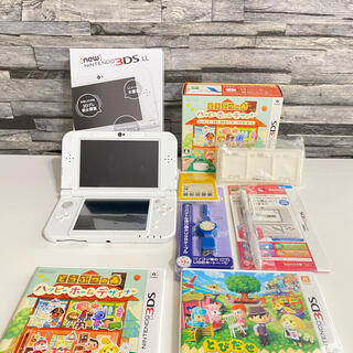 任天堂 - 美品 New  任天堂 3DS  LL  どうぶつの森 2本 その他 セット