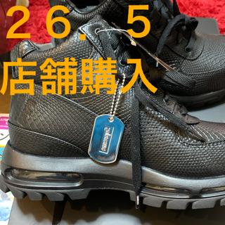 Supreme - SUPREME × NIKE AIR MAX GOADOME ブラック 26.5