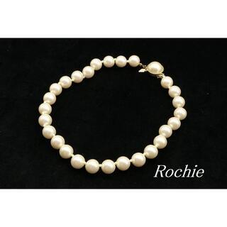 ロキエ(Lochie)の【WA47】Rochie 12mm玉 パール ビーズ ショート ネックレス(ネックレス)