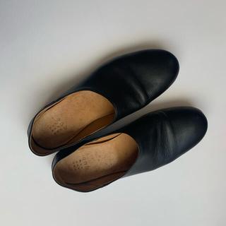 YAECA - que shoes スリッポン プレーン