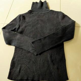 ギャップキッズ(GAP Kids)のギャップ 130cm ハイネックセーター 黒(ニット)