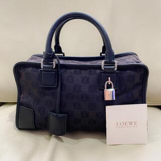 LOEWE - 美品 ロエベ 正規品 アマソナ 28 キャンバス ハンドバッグ