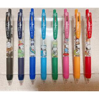 ピーナッツ(PEANUTS)の【PEANUTS】サラサ 0.5 スヌーピー ボールペン 8色セット(ペン/マーカー)