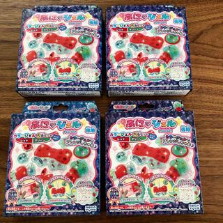 セガ(SEGA)の【特価】ぷにジェル レッド/グリーン 4箱セット(知育玩具)