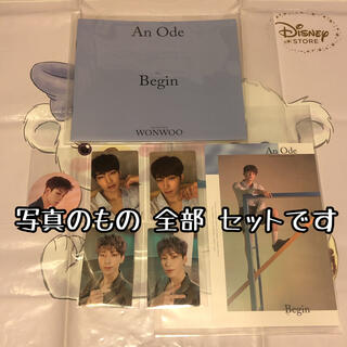 セブンティーン(SEVENTEEN)の木 ウォヌ Begin トレカ セット An Ode seventeen セブチ(K-POP/アジア)