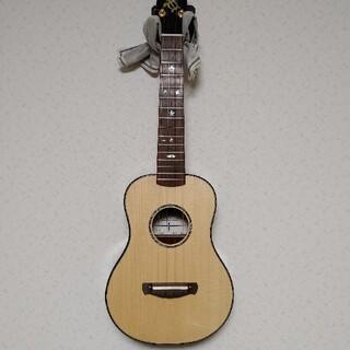 極上品!NOB アコースティックギター ウクレレ カスタムコンサート オール単板(コンサートウクレレ)