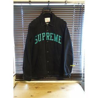 Supreme - 美品 Supreme 13AW Denim Coaches jacket 黒 M