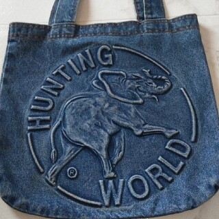 ハンティングワールド(HUNTING WORLD)のハンティングワールド デニムトートバック♬(トートバッグ)