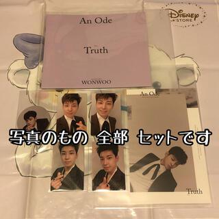 セブンティーン(SEVENTEEN)の木 ウォヌ Truth トレカ セット An Ode seventeen セブチ(K-POP/アジア)
