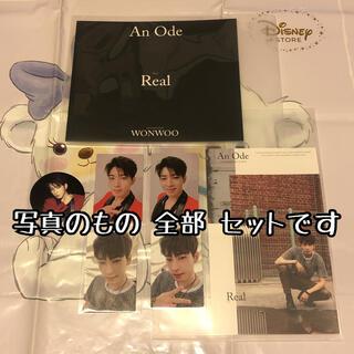 セブンティーン(SEVENTEEN)の木 ウォヌ Real トレカ セット An Ode seventeen セブチ(K-POP/アジア)