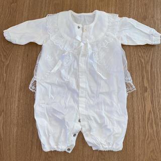 ベビードレス セレモニードレス ロンパース 新生児(セレモニードレス/スーツ)
