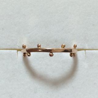 エテ(ete)のete K10ピンクゴールドリング(リング(指輪))