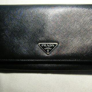 プラダ(PRADA)のPRADA プラダ 長財布 サフィアーノレザー (財布)
