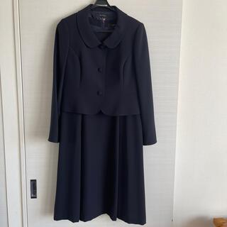 リフレクト(ReFLEcT)のreflect 濃紺 スーツ 15号 東京ソワール(スーツ)