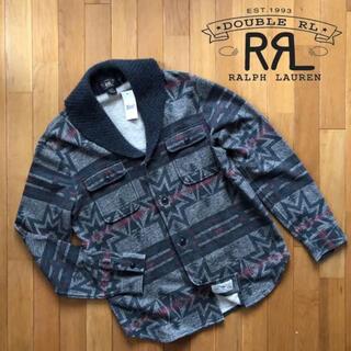 RRL - RRL ショールカラーカーディガン ネイティブ柄 ニット セーター