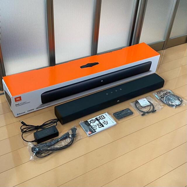 JBLサウンドスピーカー BarStudio スマホ/家電/カメラのオーディオ機器(スピーカー)の商品写真