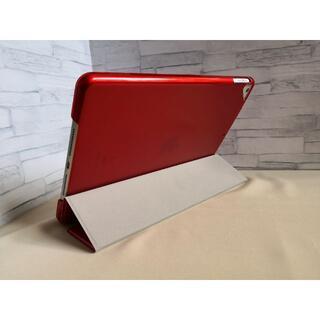 薄型軽量 新型 iPad 8世代 10.2インチ レッド スマートケース(iPadケース)
