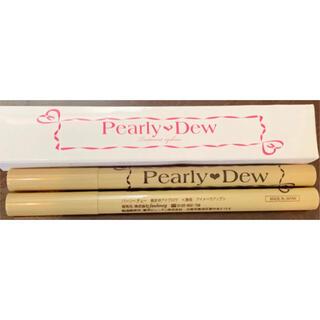 ②パーリーデュー Pearly Dew アイブロウ ウォータープルーフ 2本