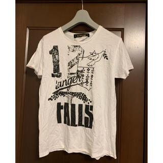 アンリアレイジ(ANREALAGE)のANREALAGE 祈りプリントTシャツ(Tシャツ/カットソー(半袖/袖なし))
