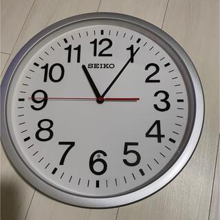 セイコー(SEIKO)の774att様専用☆新品☆ セイコー 電波掛け時計「スタンダードオフィスタイプ」(掛時計/柱時計)