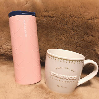 Starbucks Coffee - Starbucks スタバ バレンタイン 2020 マグカップ タンブラー 新品