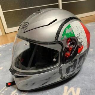 ほぼ新品 AGV K3 フルフェイスヘルメット+ミッドランドインカムセット(ヘルメット/シールド)