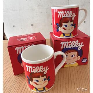 フジヤ(不二家)のペコちゃんマグカップ(グラス/カップ)