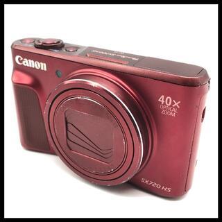 キヤノン(Canon)の【本体のみ】 CANON PowerShot SX720 HS レッド(コンパクトデジタルカメラ)