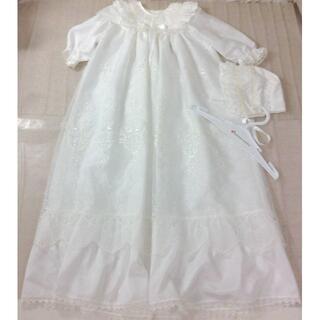 赤ちゃんの城 セレモニードレス 帽子付き 50-70 ★02YE01161074(セレモニードレス/スーツ)