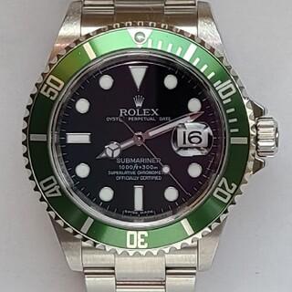 ROLEX - ロレックス 緑サブ 16610LV