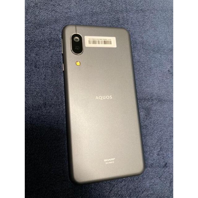 AQUOS sense3 lite ブラック 64 GB スマホ/家電/カメラのスマートフォン/携帯電話(スマートフォン本体)の商品写真
