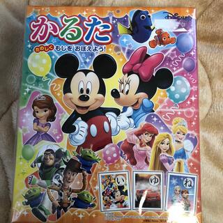 Disney - 【新品未開封】ディズニーキャラクターかるた 幼児向け