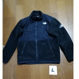 THE NORTH FACE - 訳ありTHE NORTH FACE 人気のDENALI JACKET 黒L美品
