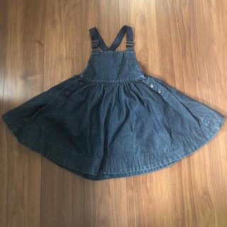 ラルフローレン(Ralph Lauren)のラルフローレン ジャンバースカート 100(ワンピース)