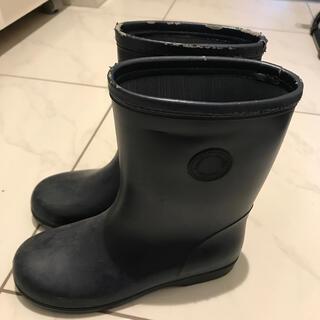 ファミリア(familiar)のfamiliar長靴 紺色(長靴/レインシューズ)