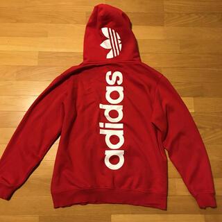 アディダス(adidas)の【海外限定】アディダスパーカー バックロゴ(パーカー)