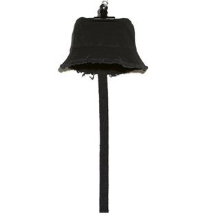 ピースマイナスワン(PEACEMINUSONE)のPMO canvas bucket hat#1 black(ハット)