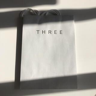 スリー(THREE)のTHREE ショップバック(ショップ袋)