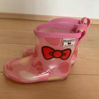 フタフタ(futafuta)の長靴 キティ 15(長靴/レインシューズ)