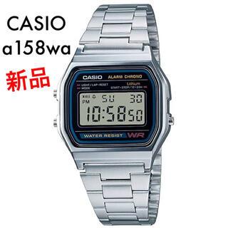 カシオ(CASIO)の【新品】今だけ限定価格 CASIO チープカシオ a158w 腕時計(腕時計(デジタル))