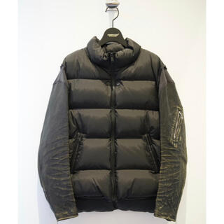 UNDERCOVER - undercover 30th 袖レザー ダウン Leather sleeve