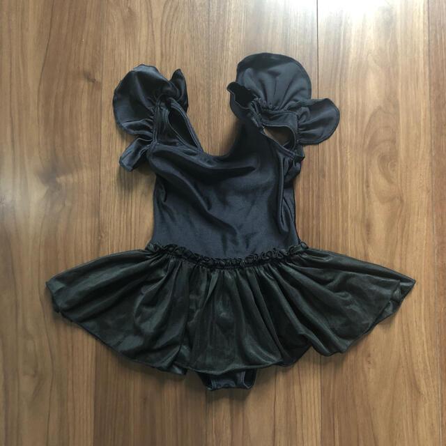CHACOTT(チャコット)のチャコット バレエレオタード 黒 100 キッズ/ベビー/マタニティのキッズ服女の子用(90cm~)(その他)の商品写真