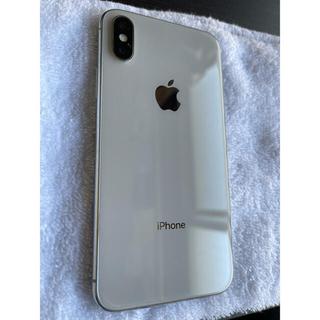 iPhone X Silver 64 GB SIMフリー ジャンク