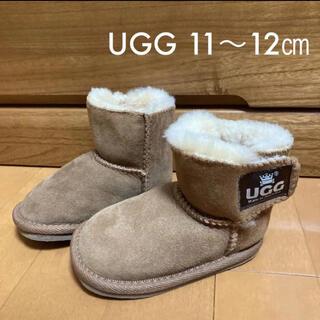 アグ(UGG)のUGG アグ ムートン ブーツ ベビー 11 12(ブーツ)