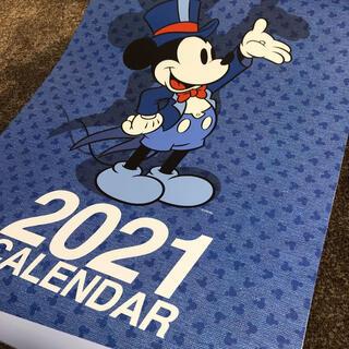 ディズニー(Disney)のDisney ディズニー カレンダー 2021 第一生命 ミッキー 大きめ 壁掛(カレンダー/スケジュール)
