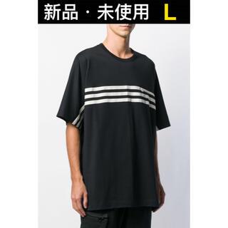 Y-3 - Y-3 ワイスリー ストライプ 半袖 Tシャツ Lサイズ FJ0414