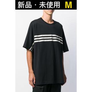 Y-3 - Y-3 ワイスリー ストライプ 半袖 Tシャツ Mサイズ FJ0414