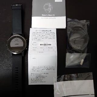 ガーミン(GARMIN)のfēnix 5S Sapphire Black  010-01685-4(腕時計(デジタル))