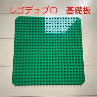 Lego - レゴ デュプロ 基礎版 正規品 緑 38×38
