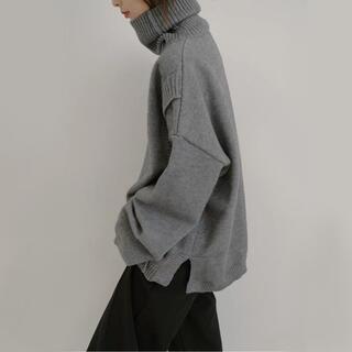 SUNSEA - [新品/入荷待ち] turtleneck layered knit#No.19G